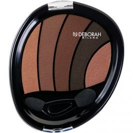 Deborah Milano Perfect Smokey Eye szemhéjfesték  applikátorral árnyalat 06 Soft Smokey 5 g