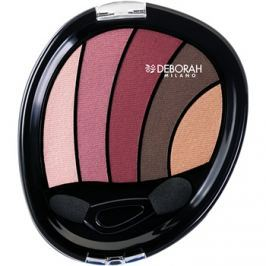 Deborah Milano Perfect Smokey Eye szemhéjfesték  applikátorral árnyalat 02 Rose 5 g