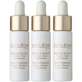 Decléor Night Essence intenzív éjszakai ápolás a feszes bőrért  3 x 7 ml