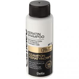 Delia Cosmetics Cameleo BB keratin sampon a károsult hajra  50 ml