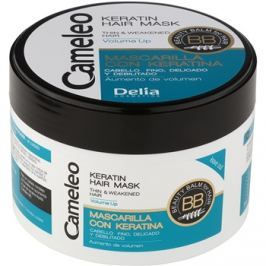 Delia Cosmetics Cameleo BB keratinos maszk finom és lesimuló hajra  200 ml