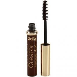 Delia Cosmetics Creator szemöldökzselé 4 in 1 árnyalat Brown 7 ml