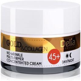 Delia Cosmetics Gold & Collagen 45+ feszesítő ránctalanító krém  50 ml