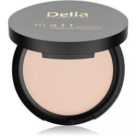 Delia Cosmetics Matt púder árnyalat 01 Transparent 8 g