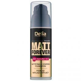Delia Cosmetics Matt Forever könnyű make-up árnyalat 41 35 ml
