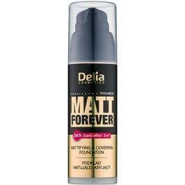 Delia Cosmetics Matt Forever könnyű make-up árnyalat 44 35 ml