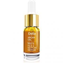 Delia Cosmetics Professional Face Care Argan Oil intenzív helyreállító és fiatalító szérum argan olajjal arcra, nyakra és dekoltázsra  10 ml