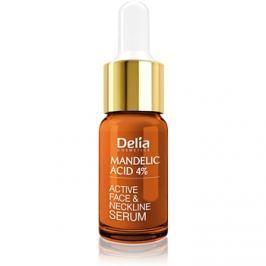 Delia Cosmetics Professional Face Care Mandelic Acid kisimitó szérum mandula savval arcra, nyakra és dekoltázsra  10 ml