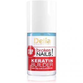 Delia Cosmetics STOP broken nails! keratinos ápolás a gyenge körmök táplálására  11 ml