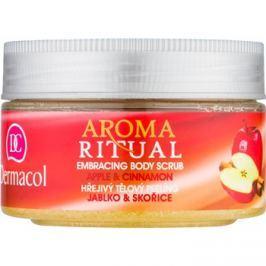 Dermacol Aroma Ritual melegítő testpeeling alma és fahéj  200 g