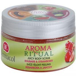 Dermacol Aroma Ritual friss testpeeling rebarbara és eper  200 g