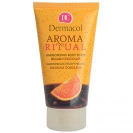 Dermacol Aroma Ritual relaxáló hatású testpeeling belga csokoládé  150 ml