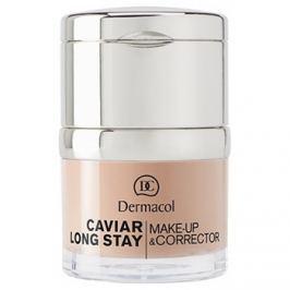 Dermacol Caviar Long Stay hosszantartó make-up és korrektor kaviár kivonattal árnyalat 1 Pale  30 ml