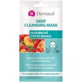 Dermacol Deep Cleasing Mask textil 3D mélytisztító arcmaszk  15 ml