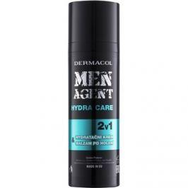 Dermacol Men Agent Hydra Care hidratáló borotválkozás utáni balzsam 2 az 1-ben  50 ml