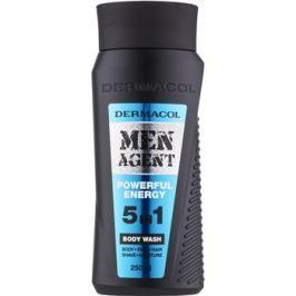 Dermacol Men Agent Powerful Energy tusfürdő gél 5 in 1  250 ml