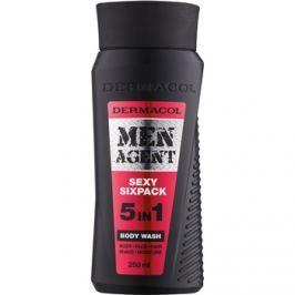 Dermacol Men Agent Sexy Sixpack tusoló gél  5 in 1  250 ml