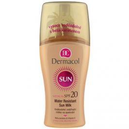 Dermacol Sun Water Resistant vízálló napozótej SPF 20  200 ml