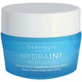 Dermedic Hydrain3 Hialuro mélyen hidratáló krém SPF15  50 g