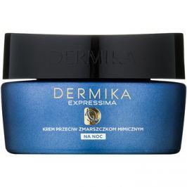 Dermika Expressima éjszakai regeneráló krém mimikai ráncok ellen  50 ml