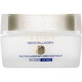 Dermika Neocollagen tápláló krém a ráncok csökkentésére és a megereszkedett bőrre 70+  50 ml