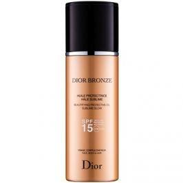 Dior Dior Bronze élénkítő napozó olaj SPF15  125 ml