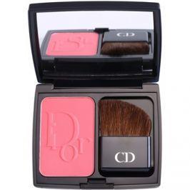 Dior Diorblush Vibrant Colour púderes arcpír árnyalat 889 New Red  7 g
