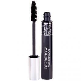 Dior Diorshow Mascara Waterproof vízálló göndörítő és nagyobbító szempillaspirál árnyalat 090 Black 11,5 ml