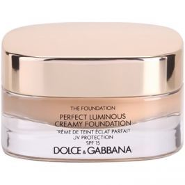 Dolce & Gabbana The Foundation Perfect Luminous Creamy Foundation élénkítő krémes make-up SPF 15 árnyalat 110 Caramel 30 ml