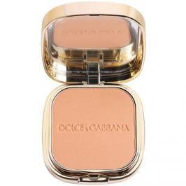 Dolce & Gabbana The Foundation Perfect Matte Powder Foundation mattító púderes make-up tükörrel és aplikátorral árnyalat No. 140 Tan  15 g
