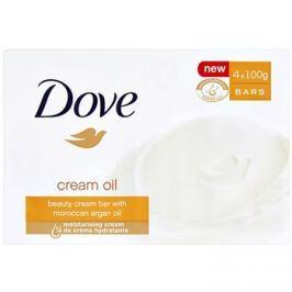 Dove Cream Oil parfümös szappan argánolajjal  4x100 g