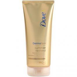 Dove DermaSpa Summer Revived színező tej enyhe napbarnított hatással  200 ml
