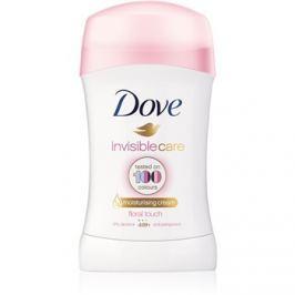 Dove Invisible Care Floral Touch kemény izzadásgátló fehér foltok ellen alkoholmentes  40 ml