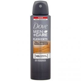 Dove Men+Care Elements izzadásgátló spray 48h Talc Mineral + Sandalwood 150 ml