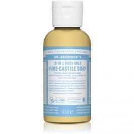Dr. Bronner's Baby-Mild folyékony univerzális szappan parfümmentes  60 ml