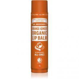 Dr. Bronner's Orange & Ginger ajakbalzsam  4 g
