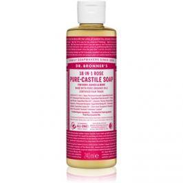 Dr. Bronner's Rose folyékony univerzális szappan  240 ml