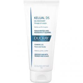 Ducray Kelual DS habos gél az irratált bőr gyengéd átmosására arcra és testre  200 ml