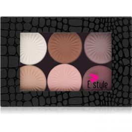 E style Magnetic Palette szemhéjfesték paletták árnyalat 01 Your Dream 6 x 6 g