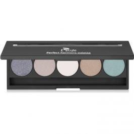 E style Perfect Harmony Palette szemhéjfesték paletták tükörrel árnyalat 08 Posh 9,5 g