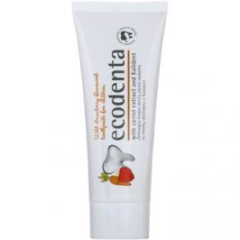 Ecodenta Kids fogkrém gyermekeknek erdei eper és répa kivonattal  75 ml