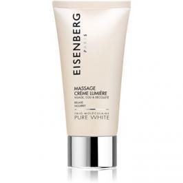 Eisenberg Pure White masszírozó krém az arcra élénk és hidratált bőr  75 ml