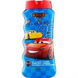 EP Line Cars 3 fürdőhab és sampon 2 az 1-ben gyermekeknek  475 ml