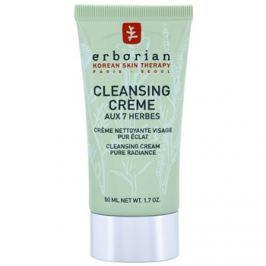 Erborian Detox 7 Herbs tisztító krém az élénk bőrért  50 ml