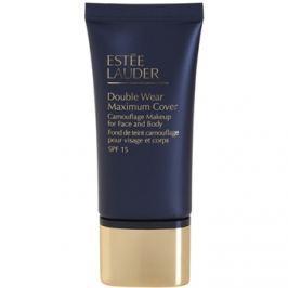 Estée Lauder Double Wear Maximum Cover fedő make-up arcra és testre árnyalat 2W2 Rattan SPF 15  30 ml