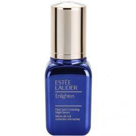 Estée Lauder Enlighten éjszakai szérum a pigment foltok ellen  30 ml