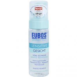 Eubos Sensitive tisztító hab az érzékeny bőr megnyugtatásához és erősítéséhez  150 ml