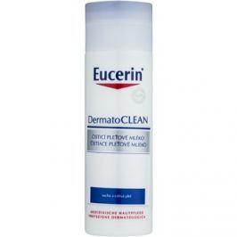 Eucerin DermatoClean tisztító arctej az érzékeny száraz bőrre  200 ml