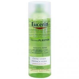 Eucerin Dermo Purifyer tisztító víz problémás és pattanásos bőrre  200 ml