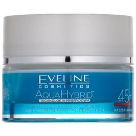 Eveline Cosmetics Aqua Hybrid intenzíven feszesítő nappali és éjszakai krém 45+  50 ml